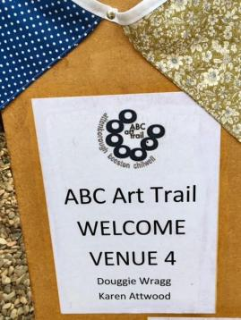 Art trail notice