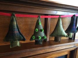 Christmas tree bunting 2