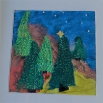 Starry Christmas trees 4